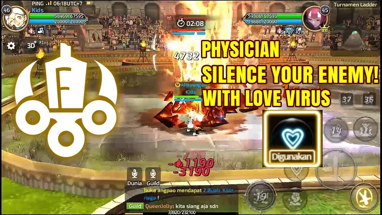 The Power of Love Physician! (Kidz, Rating 2200+) on Arena Ladder PVP |  Dragon Nest M SEA