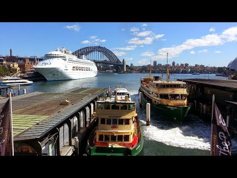 Hidden Gems Of Sydney - Ferry From Circular Quay To Cockatoo Island