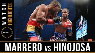 Marrero vs Hinojosa HIGHLIGHTS: August 21, 2016 - PBC on NBCSN