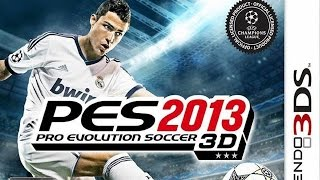 Pro Evolution Soccer 2013 3D Gameplay {Nintendo 3DS} {60 FPS} {1080p}