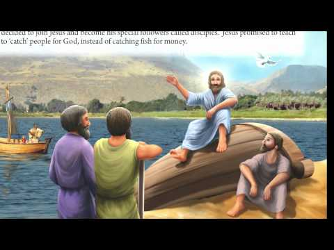 16   Sea Of Galilee - Bible Story For Kids