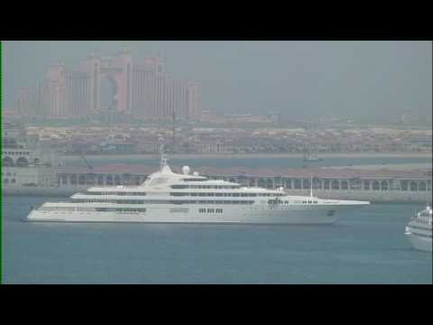 Dubai - The 2nd largest private yacht in the world