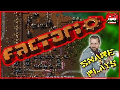 Factoring in the Factory in FACTORIO | Snare Plays