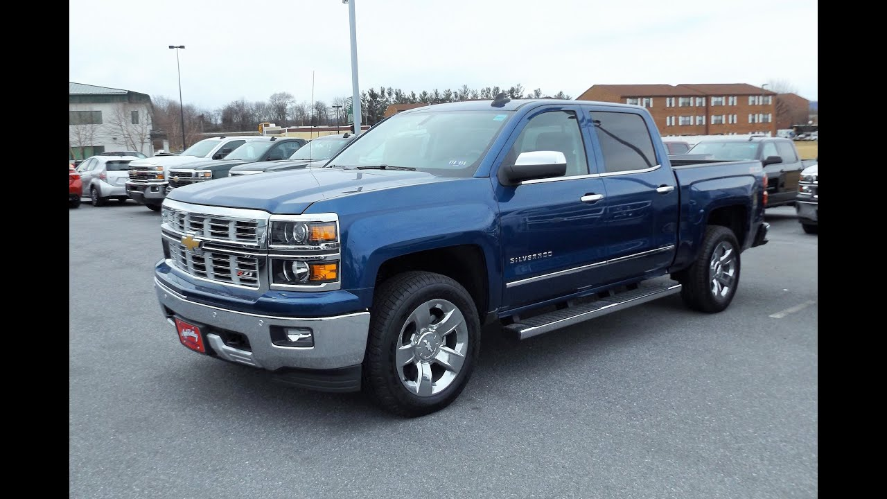 2015 Chevy Silverado 1500 Z71 4x4 Ltz Crew Cab Start Up Tour And