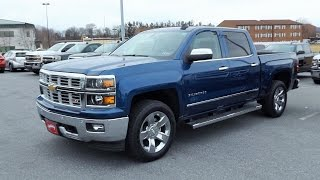 2015 Chevy Silverado 1500 Z71 4X4 LTZ Crew Cab Start Up, Tour and Review
