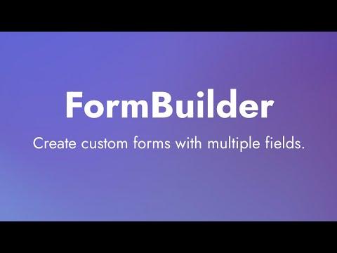 FormBuilder Extension for Mobirise