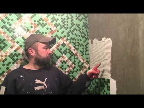Как правильно клеить мозаику