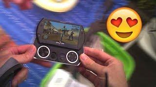 Vide grenier LIVE : PSP GO !!!