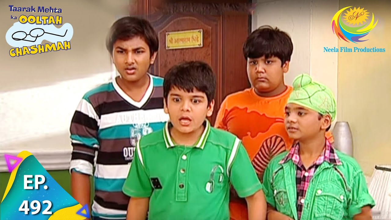 Download Taarak Mehta Ka Ooltah Chashmah - Episode 492 - Full Episode