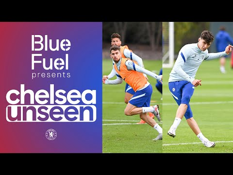 Kai Havertz, Jorginho & Giroud on 🔥 Head tennis, free-kick shoot-out | Chelsea Unseen