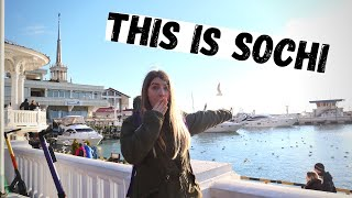 SOCHI 2021 | A Playground for Russia's RICH & FAMOUS. Traveling to KRANSNAYA POLYANA | Russian Vegas