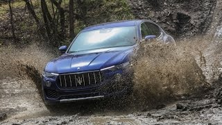 видео Новый Maserati Levante 2016 - фото, тест-драйв, цена