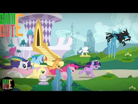 My Little Pony- Harmony Quest // Ngựa Pony đuổi ngựa sắt đen lấy mảnh ghép #2// Game Cute cho bé