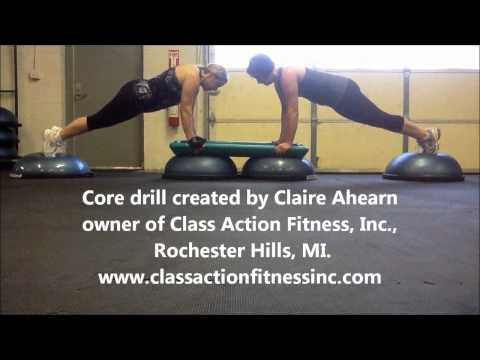 core drill-Class Action Fitness, Inc.