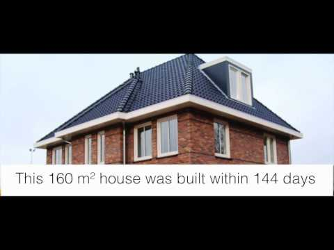 Steel frame house construction process
