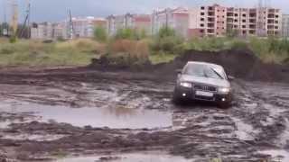 Audi A41 8T quattro тест по РУССКИ!