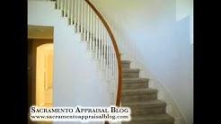 Sacramento appraiser tip for FHA loan (staircase)