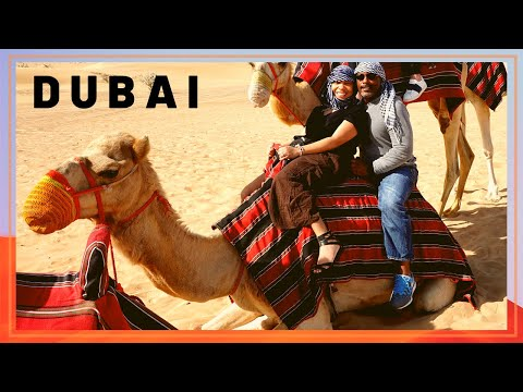Dubai 2019- Desert Safari, Dubai Fountain, Burj Khalifa Light Show, Old Souk