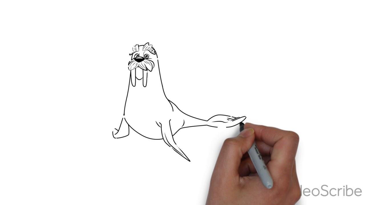 Tutorial Como Dibujar A Wally Paw Patrol Youtube