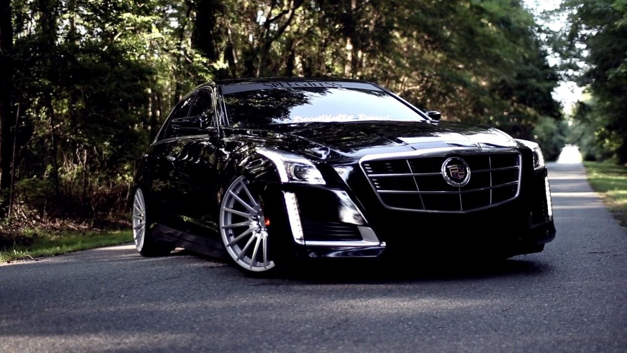 Prestons Slammed 2014 Cadillac Cts Youtube