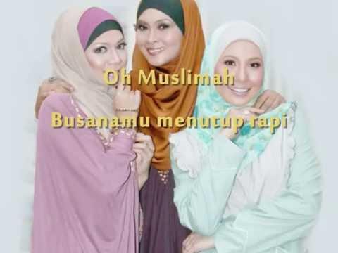 Muslimah-Fitri Widjayanti (Lirik Video)