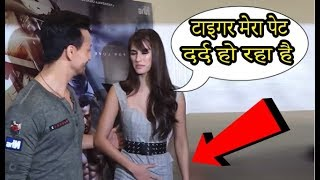 Disha Patani Reaction On Abdomen Pain At Baaghi...