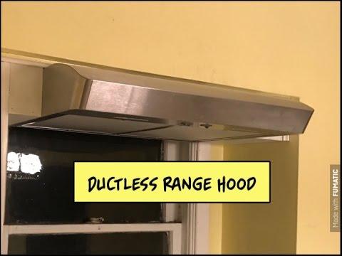 ductless range hood
