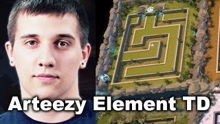 arteezy vs mason element td dota 2