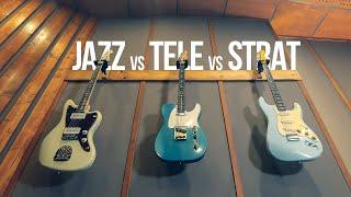 TELECASTER, STRATOCASTER, JAZZMASTER || Która Gitara jest NAJLEPSZA?