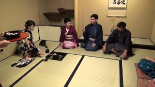 The Third Festival of Japan Culture Academy in Tokyo : Tea ceremony and flower arrangement 01