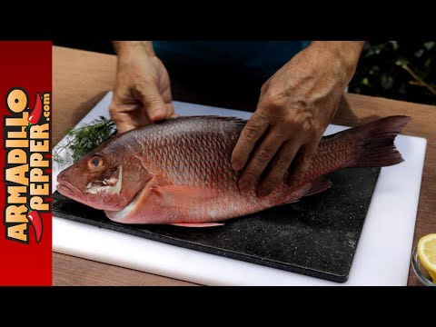 How To Grill A Whole Salt-Encrusted Fish (Snapper)
