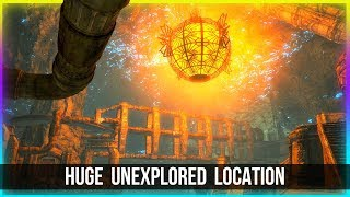 Skyrim SECRET Dwemer Dungeon Location Walkthrough!