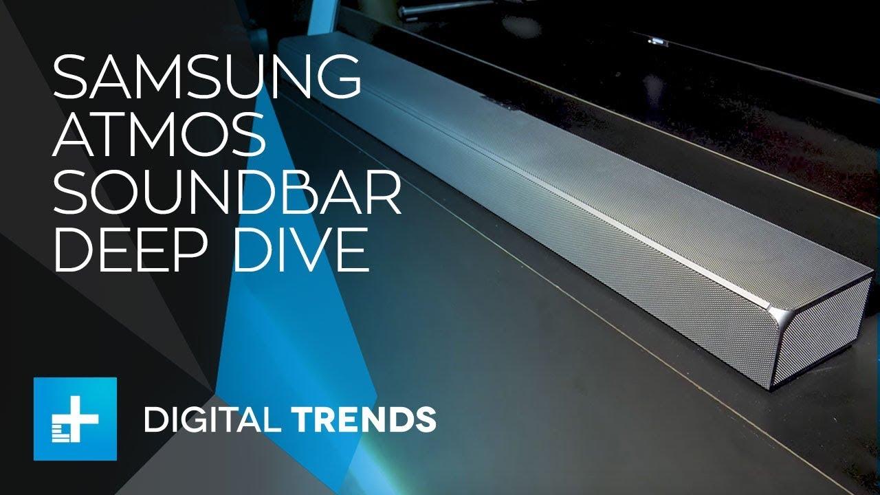 Samsung 2018 Dive - Deep Soundbar Atmos