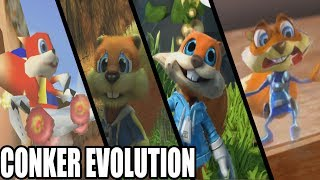 Evolution of Conker