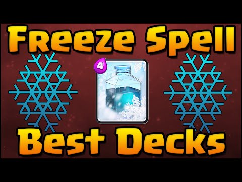 Clash Royale - Best Freeze Spell Decks and Attack Strategy for Arena 4, 5, 6, 7 with Hog and Balloon