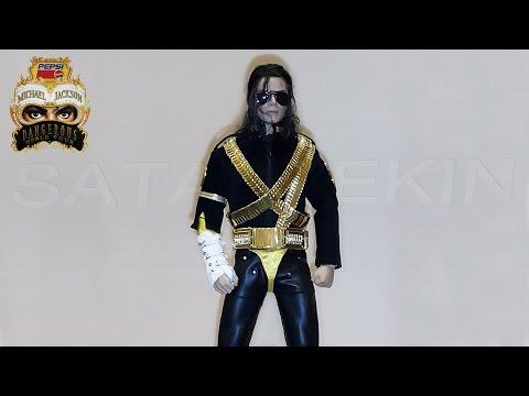 1/6 Michael Jackson Dangerous World Tour Action Figure - Doll
