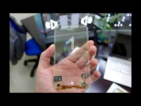 Transparent Cell Phones in 2013