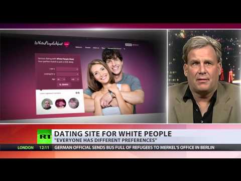 Online racism? Whites-only dating site stirs anger - but it's a hit