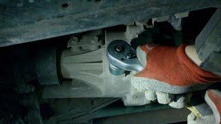 Замена масла в мостах и раздатке на Pajero Sport II