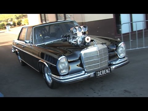 Crazy Blown V8 Merc - DEBENZ
