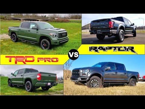 OFF-ROAD BEASTS! - 2020 Ford F-150 Raptor Vs. Toyota Tundra TRD PRO: Comparison