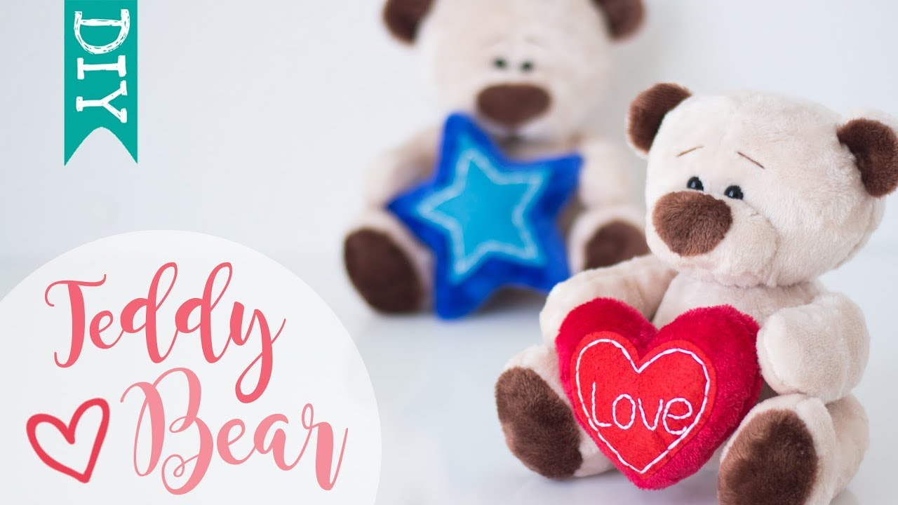 🐻 Teddy Bear DIY | how to make a stuffed bear | cute plushies DIY