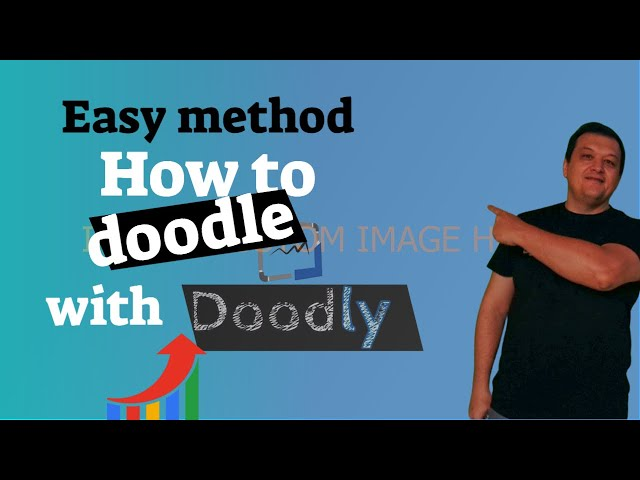 How to doodle with Doodly