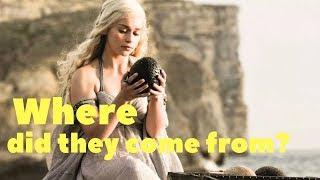 Daenerys, Braavos and the three dragon eggs