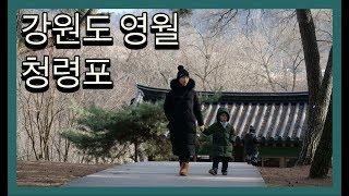 [아이와 함께 여행] 강원도 영월 청령포