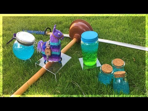 ALL FORTNITE ITEMS IN REAL LIFE!