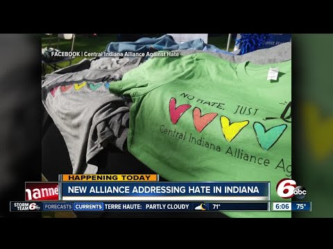 New alliance addressing hate crimes in Indiana