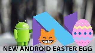 Android Nougat 7.0 Easter Egg!