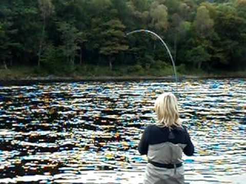 Jock Monteith Scottish Salmon Fishing  Guide