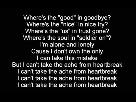 The Script - No Good In Goodbye [Lyrics]